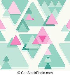 abstrakcyjny, seamless, geometryczny, tło., wektor, eps8.