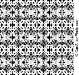 abstrakcyjny, seamless, geometryczny wzór
