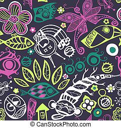 abstrakcyjny, seamless, pattern.