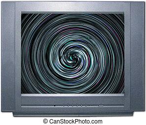abstrakcyjny, spirala, struktura