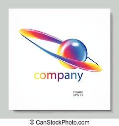 abstrakcyjny, symbol., twórczy, wektor, zaprojektujcie element, logo., template.
