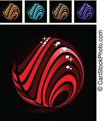 abstrakcyjny, symbol