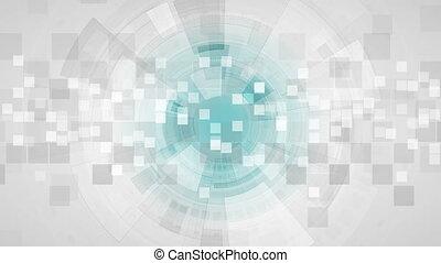 abstrakcyjny, szary, ożywienie, video, technologia, futurystyczny
