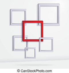 abstrakcyjny, tło, geometryczny
