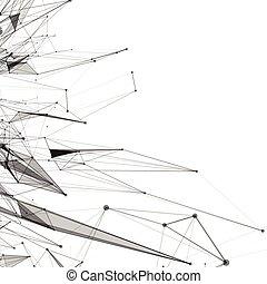 abstrakcyjny, tło rusztu, kropkowany