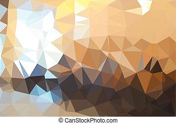 abstrakcyjny, tło, seamless, triangle