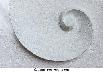 abstrakcyjny, tło, spirala, struktura