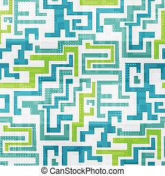 abstrakcyjny, technologia, seamless, tło