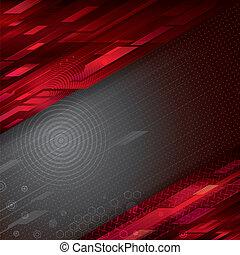 abstrakcyjny, technologia, tło