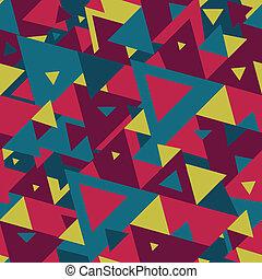 abstrakcyjny, triangle, tło