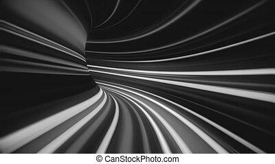 abstrakcyjny, tunnel., 4k, osnowa