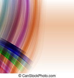abstrakcyjny, wektor, tło