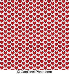 abstrakcyjny, wektor, tło, z, hearts.
