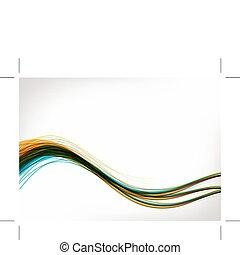 abstrakcyjny zamiar, twój, tło