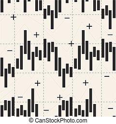abstrakt, aktie markedsfør, investering, kort, hos, pil, oppe og derned, mønster, baggrund