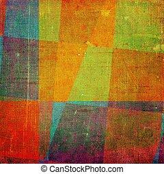 abstrakt, altes , hintergrund, mit, grunge, beschaffenheit