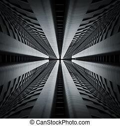 abstrakt, architektur, hintergrund