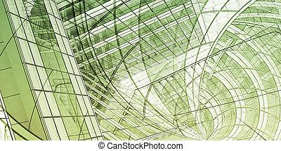 abstrakt, architektur