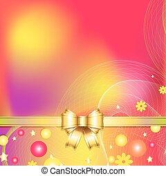 abstrakt, b, farverig, baggrund