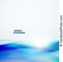 abstrakt, baggrund, bølge