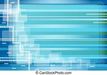 abstrakt, baggrund, blå