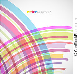 abstrakt, baggrund, hos, farverig, lines.