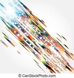 abstrakt, baggrund, hos, glatte, lines.