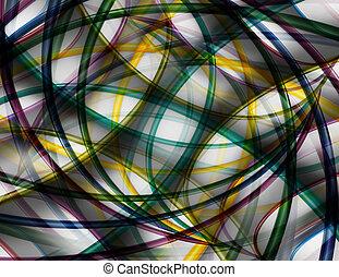 abstrakt, baggrund, kunst