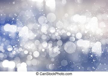 abstrakt, bakgrund, av, helgdag, lyse