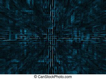 abstrakt, bakgrund, digital