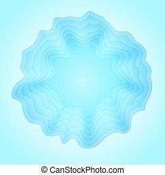 abstrakt, bakgrund, in, den, bilda, av, en, is, cave.