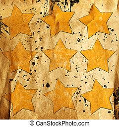 abstrakt, bakgrund, med, stjärnor