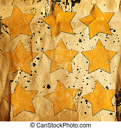 abstrakt, bakgrund, Stjärnor