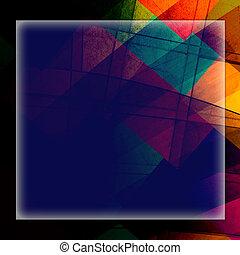 abstrakt, bakgrund, struktur