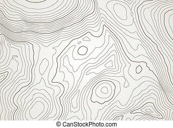 abstrakt, bakgrund, topografisk, fodrar, höjd, karta