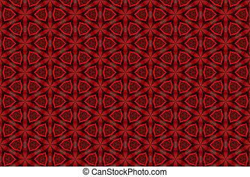 abstrakt, beschaffenheit, plastik, hintergrund, geometrisch, rotes