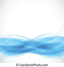 abstrakt, blå baggrund