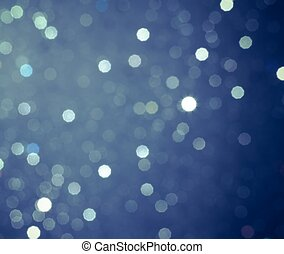 abstrakt, blå, cirkulär, bokeh, bakgrund