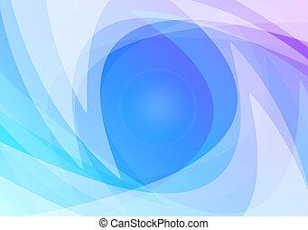 abstrakt, blåttbakgrund, tapet