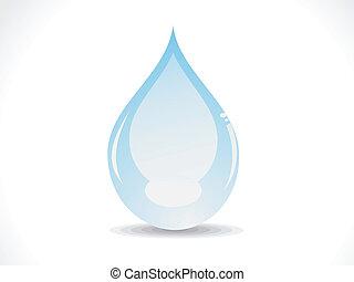 abstrakt, blanke, vand slip, vektor