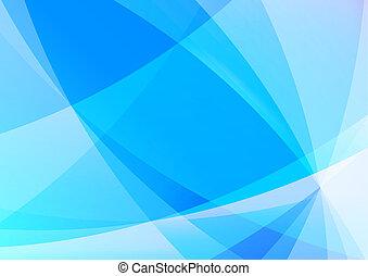 abstrakt, blauer hintergrund, tapete