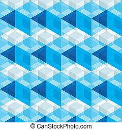 abstrakt, blaues, färben hintergrund