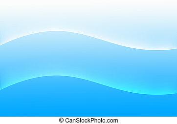abstrakt, blaues, hintergruende