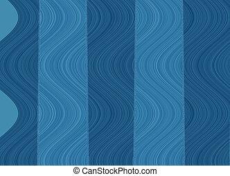 abstrakt, blaues, hintergrund.