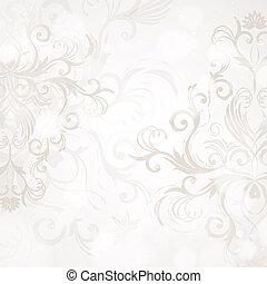 abstrakt, blomstrede, baggrund