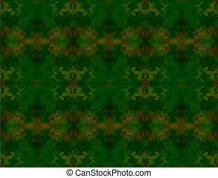 abstrakt, blurry, grünes gras, hintergrund