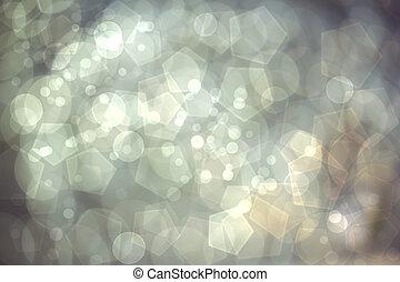 abstrakt, bokeh, lyse