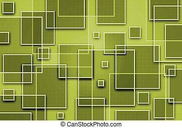 abstrakt, boxy, bakgrund