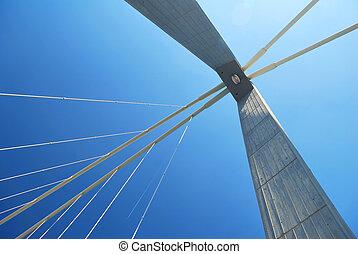abstrakt, bro, fodrar