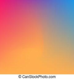 abstrakt, bunte, blaues, rot gelb, hintergrund